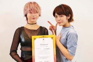 シルバー賞2位 仁田友里恵さん