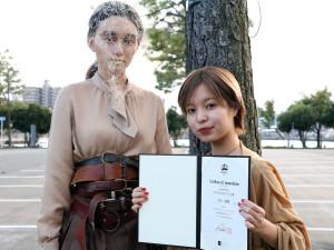 井上紗綾&モデル