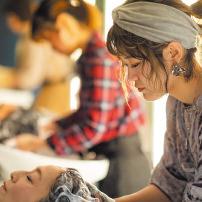 カリキュラム シャンプー 大村美容ファッション専門学校