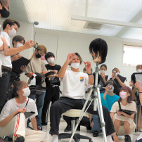 カリキュラム 外部講師授業(カットテクニック) 大村美容ファッション専門学校