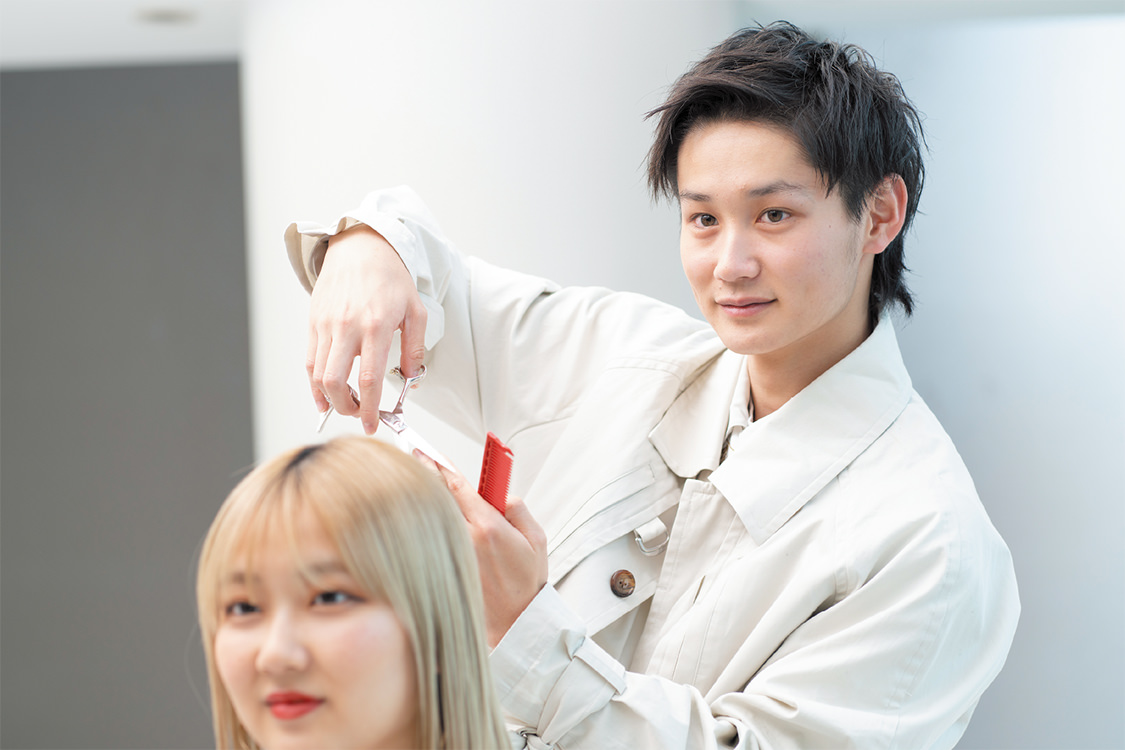 美容科 ヘアスタイリストコース 大村美容ファッション専門学校