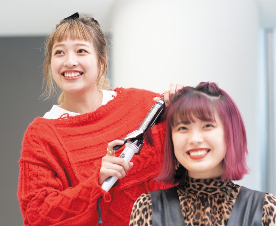 美容科 ヘアメイクアップアーティストコース 大村美容ファッション専門学校