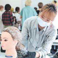 カリキュラム 外部講師授業(デザインカラー) 大村美容ファッション専門学校