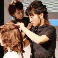 カリキュラム ヘアアレンジ 大村美容ファッション専門学校
