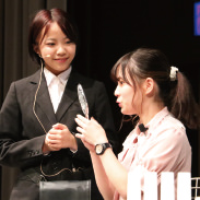 カリキュラム 接客コンテスト 大村美容ファッション専門学校