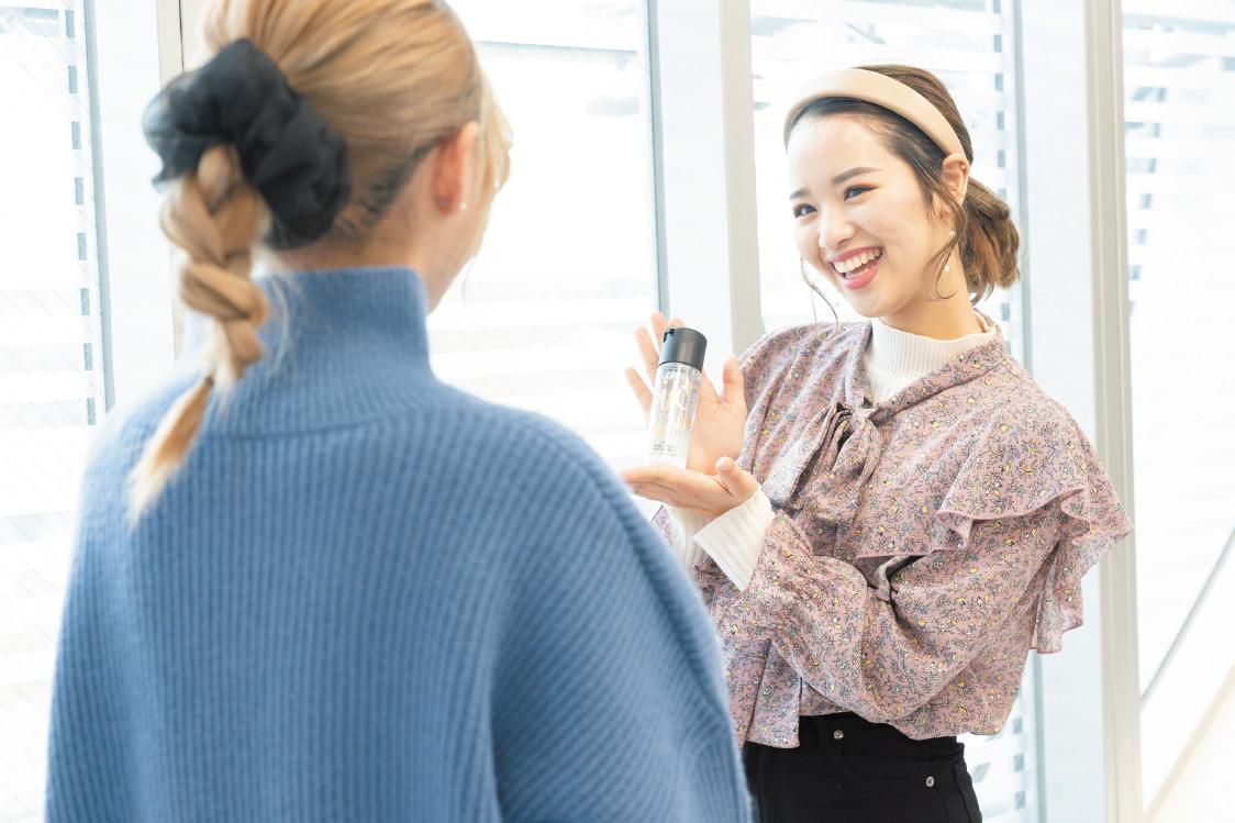 メイクアップ科 ビューティーアドバイザー 大村美容ファッション専門学校