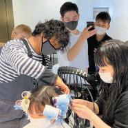 第一線で活躍するプロからの直接指導 大村美容ファッション専門学校