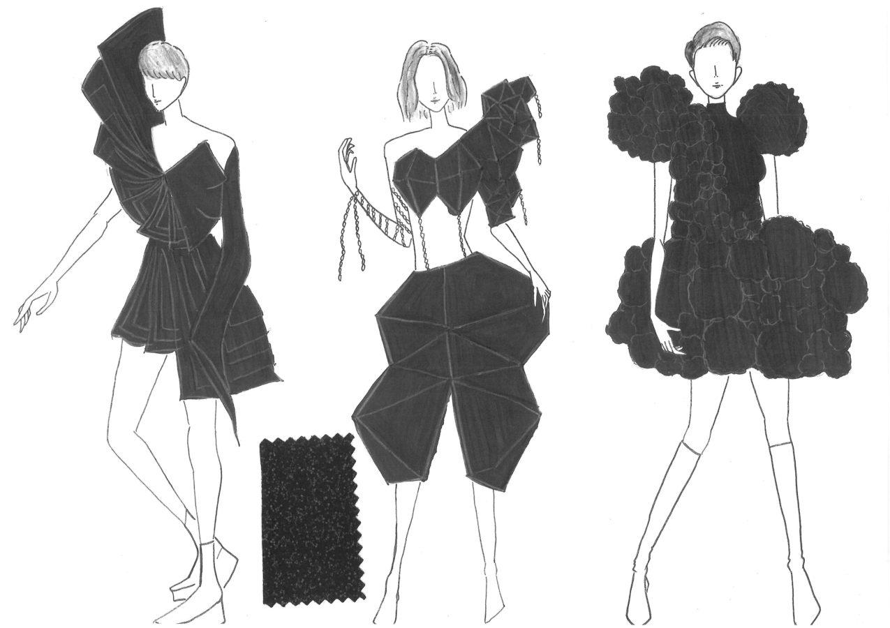 ファッションクリエイター科学生の作品がランウェイショーへ☆