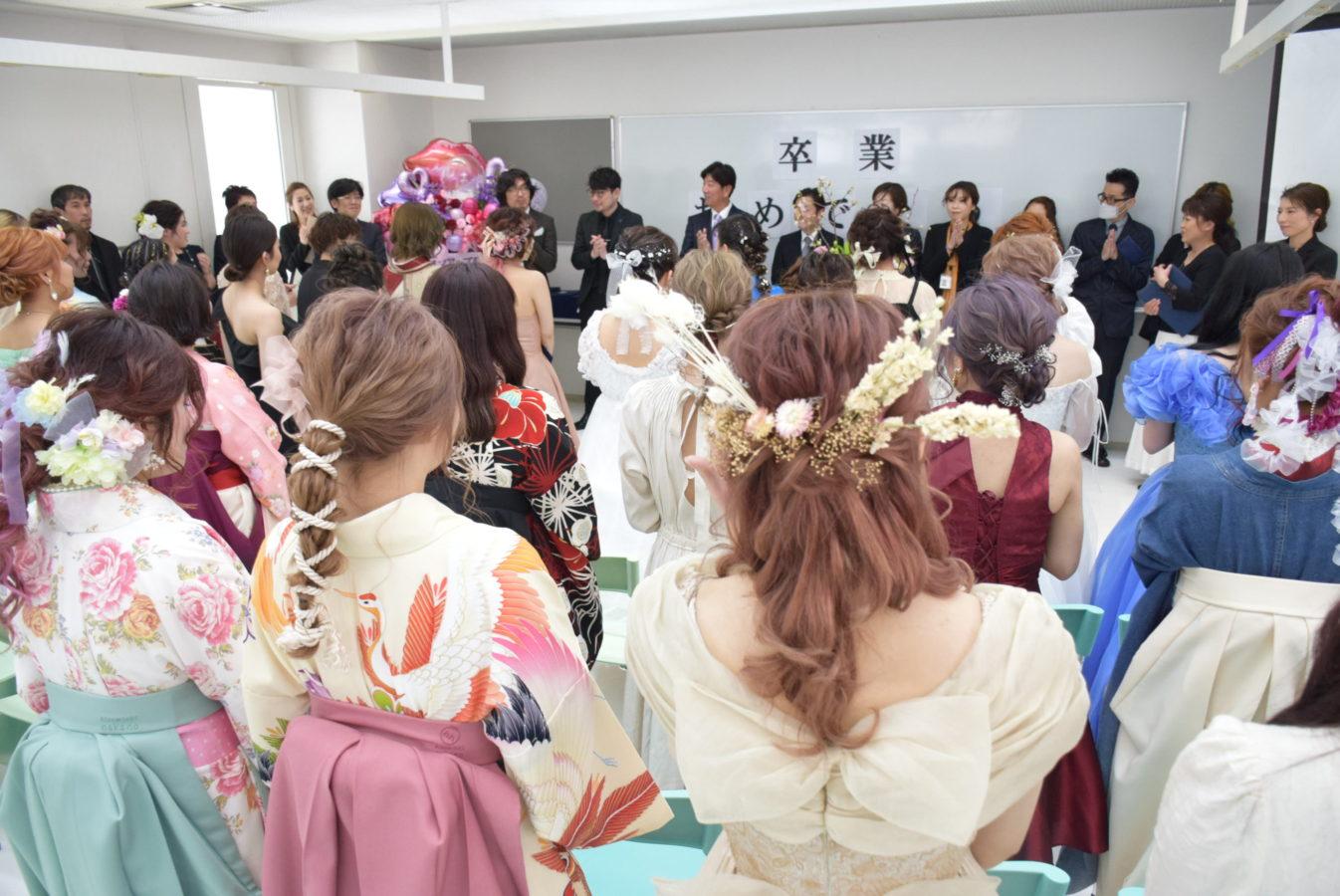 大村文化学園 卒業式