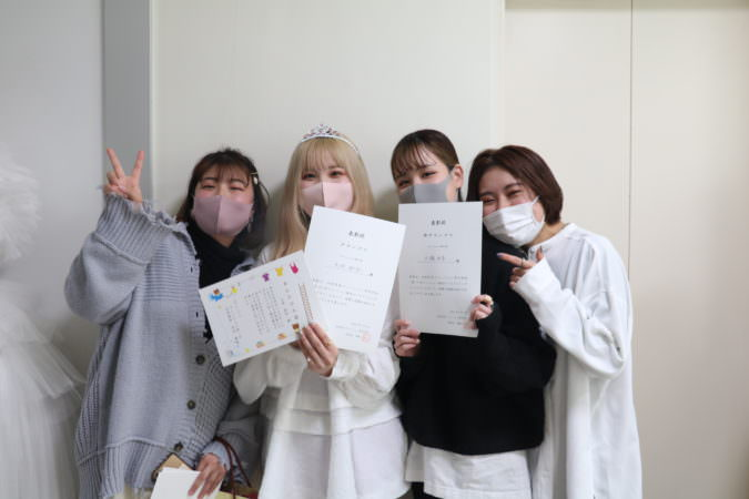 大村美容ファッション専門学校 販売ロールプレイングコンテスト